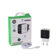 New Arrival 1A Charger with 2*USB Port VDE Plug
