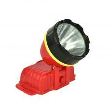 1 LED 2* AA Battery Backup Head LED Light with Black Belt