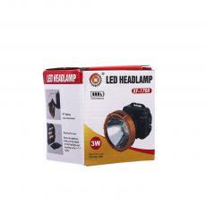 XF-1708  1W Headlamp  Color Box  Use 3 5 # batteries  7*8.6cm
