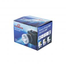 1075 Head Lamp with colored box 6.9cm