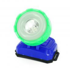 10+1LED lovely design head lamp, 3 AA battery powered head light, cheap blue headlight