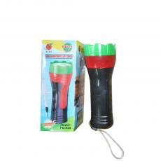 FD-828 Hot Sale Portable Flashlight Torch with 3 Pcs AA Cell workable hanging Loop