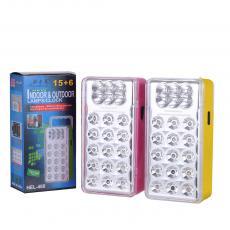 HEL-460 15+6 Lights Emergency Light Powered by Battery