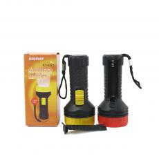 KT-1228 1 Light Flashlight Powered by 1 AA Battery with Rope
