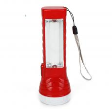 S-888 1 tube+1 light Flashlight with Rope Powered by 3 AA Battery