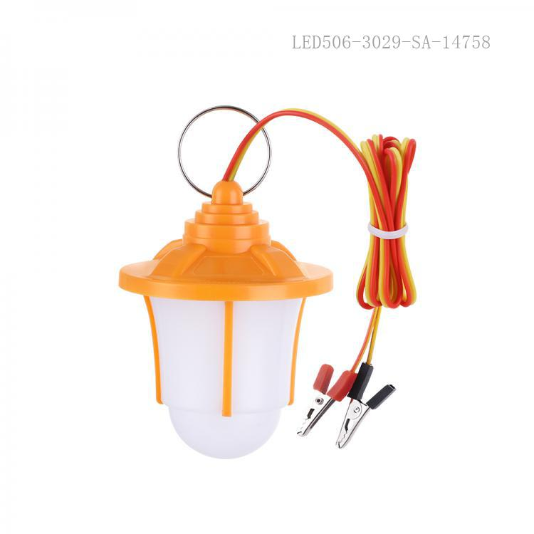 SA-6659 New Arrival SUN AFRICA DC12V9W LED Lamp with 9 2835 Patch Lamp Bead 1m Charging Wire Clip*2