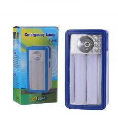 S-518  Battery Powered SMD 22+1 Emergency Light  Color Box