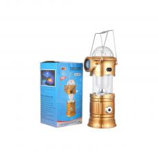 MA-6801 Camping Lantern With SMD*6 Egg Tube Colorful Light USB V8 Interface