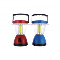 QS-119 Camping Lantern Powered By 4 1# Battery With Handle 3COB