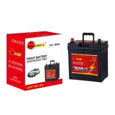 SA-R36  New Arrival SUN AFRICA 12V36Ah 9.4kg Maintenance-Free Car Battery 196*128*202*222mm with 4+4-L60