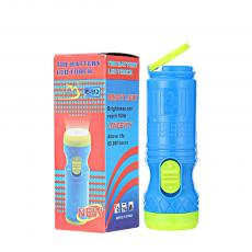 F-112  LED Torch Flashlight with colored box 11.4*3.5cm