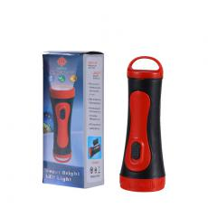 KT-1258 NewArrival 1W Flashlight Mini Torch 1 Pc D Cell Workable One Step On/Off Switch Hot Sale Wholesale in Africa