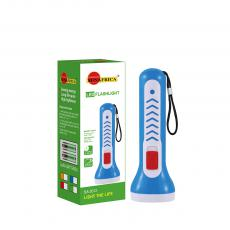 SA-2012 Sun Africa  Dry Battery Torch with Switch  Rope 1/3030 Lamp Beads 4.2CM Height  14.7CM Head Diameter  2/5# Batteries Yellow Blue Green Red Hot Sale Wholesale in Africa