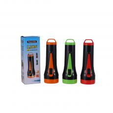 PC-006 New Arrival Panachiba 1W Dry Cell Dry Battery Flashlight with 2 Step Switch 3 AA Batteries
