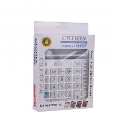 CT-9240C-W New Arrival 14 Large Display Dual Power Calculator with 1 PC AA Cell workable  Unit Size 20*15.5*4cm Hotsale Wholesale in Africa