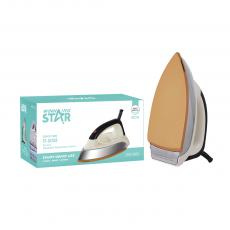 ST-5008 New Arrival Winning Star AC220-240V 50/60HZ 1000-1200W Elctric Iron with Copper Wire 3*0.75MM. High Temperature Resistant Handle. Iron Chrome 0.6MM, Gold Ceramic Paint Aluminum, Temperature Control. 3 Steps Switch. BS Plug. Hot Sale