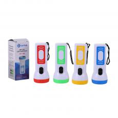 KT-182 New Arrival KAITUO Flashlight 2*AA Battery Useable One Step Switch Height: 11CM, Head Diameter: 4.3CM, Red, Blue, Green, Hot Sale Wholesale in Africa.