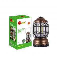 SA-1990 New Arrival SUN AFRICA Multifunctional Camping Lamp with Straight COB*3 3*5# Battery Adjustment Knob Handle