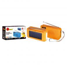 SA-8936 New Arrival SUN AFRICA Portable Mini Speaker with USB/TF/FM External Antenna Emergency Light Solar Panel 5W Speaker 14500 Lithium Battery 500mAh