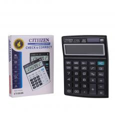 CT-933N New Arrival 12 Large Display Dual Power Calculator with 1 PC AAA Cell workable  Unit Size 17.8*13.2*3cm Hotsale Wholesale in Africa