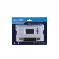 DF30A New Arrival 12/24V 20A Solar Charge Controller with LCD Display 2.1A Double USB Double External Fuse Automatic Identification