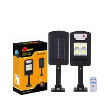 SA-3346 New Arrival SUN AFRICA 100*300mm ABS Solar COB Street Light with 4*COB Light Control/Remote Control/Human Body Induction 3 Step Switch Screw