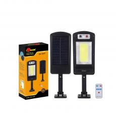 SA-3347 New Arrival SUN AFRICA 365*113mm ABS Solar COB Street Light with 1*COB Light Control/Remote Control/Human Body Induction 3 Step Switch Screw