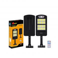 SA-3350 New Arrival SUN AFRICA 520*164mm ABS Solar COB Street Light with 12*COB Light Control/Remote Control/Human Body Induction 3 Step Switch Battery 5000mAh Screw