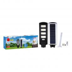 SA-3415 New Arrival SUN AFRICA 120W ABS Solar Street Lamp with 6V/14W Polycrystalline Solar Panel 192*5730 Lamp Bead Solar Panel Lithium Battery 3.2V/10000mAh Light Control/Radar Sensor Remote Control/Lamp Arm/Screw Package