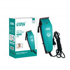 ST-5607 New Arrival WINNING STAR AC 110-240V 5W  Hair Clipper with High Carbon Steel Electroplated Blade Pure Copper Motor Positioning Comb*4 Small Brush Oil Bottle 2.4m Copper Cable VDE Plug