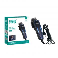 ST-5615 New Arrival WINNING STAR AC110-240V 7W Hair Clipper with Lithium Battery 2200mAh Limit Comb*4 Small Brush Oil Bottle USB Cable Adapter BS Plug