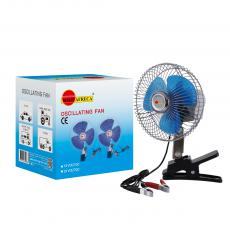 Solo Africa Fan with Electroplated Stainless Steel External 16-inch Electric Fan Blue Plastic Fan Blade Clip Switch 1.4 M Wire Small Motor Hot Sale Wholesale in Africa