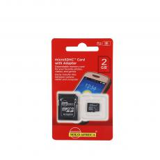 CLASS6 New Arrival SOLOAFRECA 2G Micro SD CardTF Card Memory Card with Adapter-6Mb/s