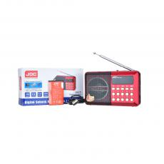 Hot Sale Rechargeable Radio with USB,Display Screen,Digital Keys, 3.V 600Ma Battery