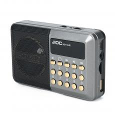 H011UR Radio Rechargeable with USB/TF FM Display Screen Rope USB Cable