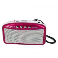 SP-236,africa hot sale radio small portable mini speaker MP3 radio
