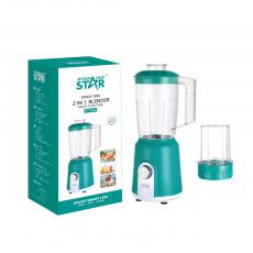 ST-5593 New Arrival WINNING STAR 350W 1.5L Electric Multi-Functional Juicer Blender with 304 Stainless Steel Blade PC Cup +2-Blade 200ml Cup Temperature Control 7020 Copper Clad Aluminum Motor 1m Copper Charging Wire VDE Plug