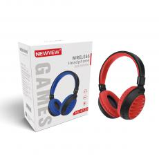 NV-8120 New Arrival NEWVEW 5.0+EDR Bluetooth Headset Headphone with TF/FM/MP3/Call Battery 200mAh work Time 12h