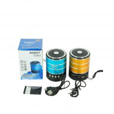 ROBOT-030U Hot Sale Rechargeable Speaker with FM Radio, LED Display,MP3 Player,Rechargeable Battery.