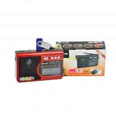 RX-1314 Hot Sale Portable Radio with  AM/FM/SW1-7 9 Band USB/TF/LED Light