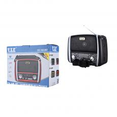 VX-1632BT Radio with colored box 22.4*17.410cm FM/AM/SW/USB/TF/MP3