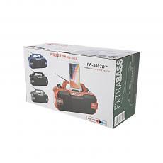 FP-8007BT Radio with colored box 9V/1.5W solar panel FM/AM/SW/USB/TF/MP3