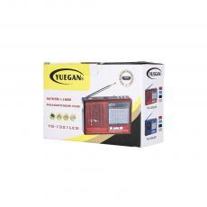 YG-1321LED  Radio  Color box  FM/AM/WS/USB/TF/MP3  1200 mAh