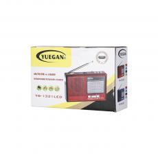 YG-1323LED  Radio  Color box  FM/AM/WS/USB/TF/MP3  1200 mAh