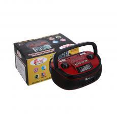 FP-1908BT  Radio  Color Box  BT/AM/FM/SW1-2 4/USB/SD/MP3/TF/AUX  1200 mAh  18*12.8*8.8cm