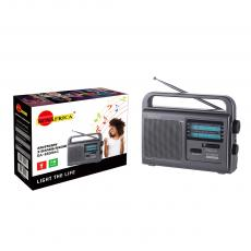 SA-8899 New Arrival SUN AFRICA Portable Radio with FM/SW/SW Three Bands External Antenna Support 3*D Batteries