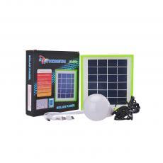 HT3889 2.5W/6V Solar Panel With USB/V8/LED Bulb Interface 6000mah Battery Panel Plastic Frame