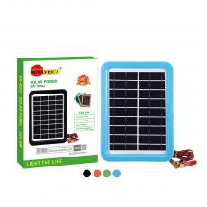 SA-4002 New Arrival SUN AFRICA 5W/18V Plastic Frame Polycrystalline Solar Panel with 2m Cable 2065 Clip*2