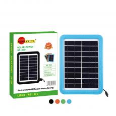 SA-4001 New Arrival SUN AFRICA 5W/9V Plastic Frame Polycrystalline Solar Panel with 2m DC Cable