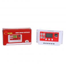 SA-3308 New Arrival SUNARICA 12V/24 20A Automatic Identification Solar Charge Controller with Double USB Port Display Light/Time Control Adjustable Parameter
